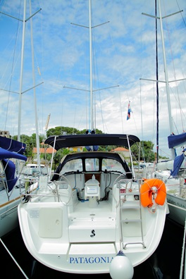 Patagonia   Beneteau Cyclades 39.3  (2007/ sails 2012)
