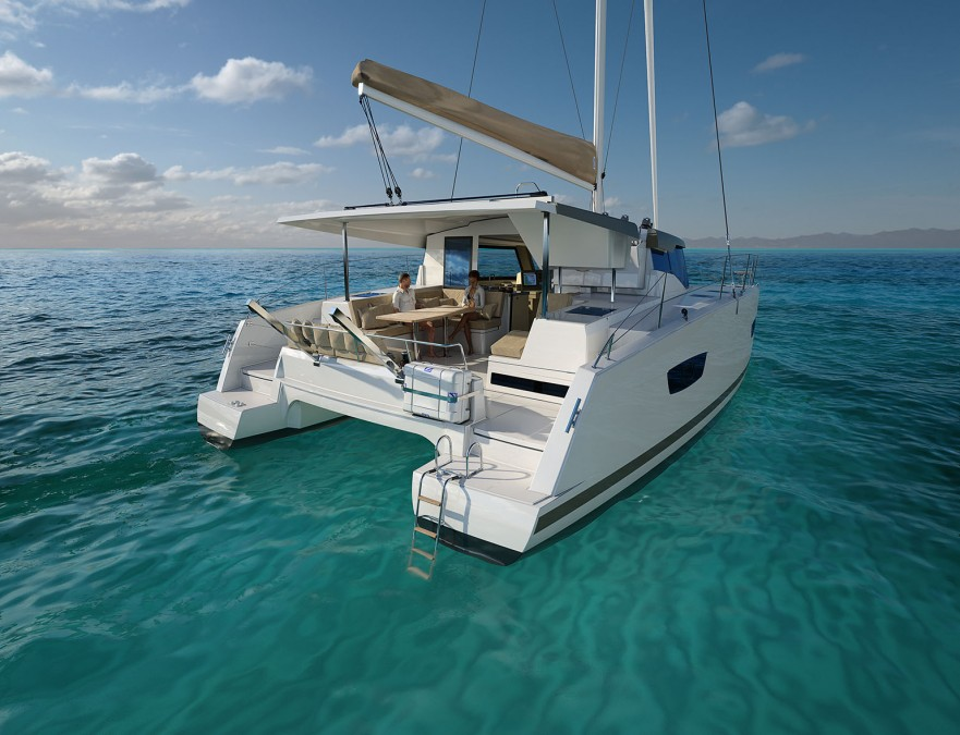 Catamaran LUCIA Fountain Pajot new 40ft (2016)